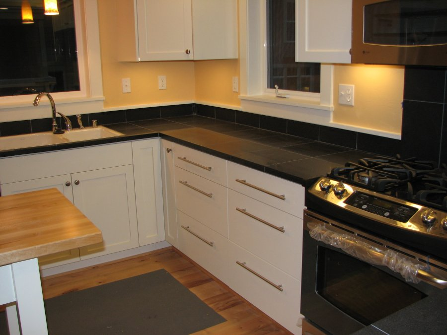 Cabinets only d 39 ireys cabinetmakers for Anigre kitchen cabinets