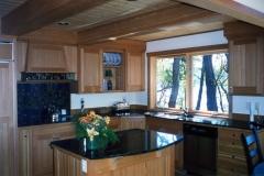 Brown Island Tamarack Kitchen