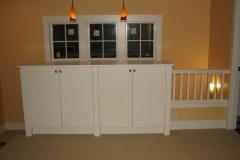 Paint Cabinet/Railing