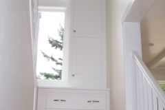 Paint Cabinet Stair Landing