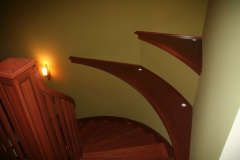 Sapele and Wenge Stairparts