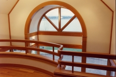 Douglas Fir Railing and Moldings