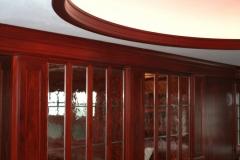 Oval Santos Mahogany Molding