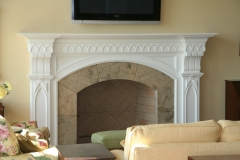 Lancet Fireplace Mantel
