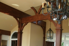 Recycled Fir Beams and Cherry Posts