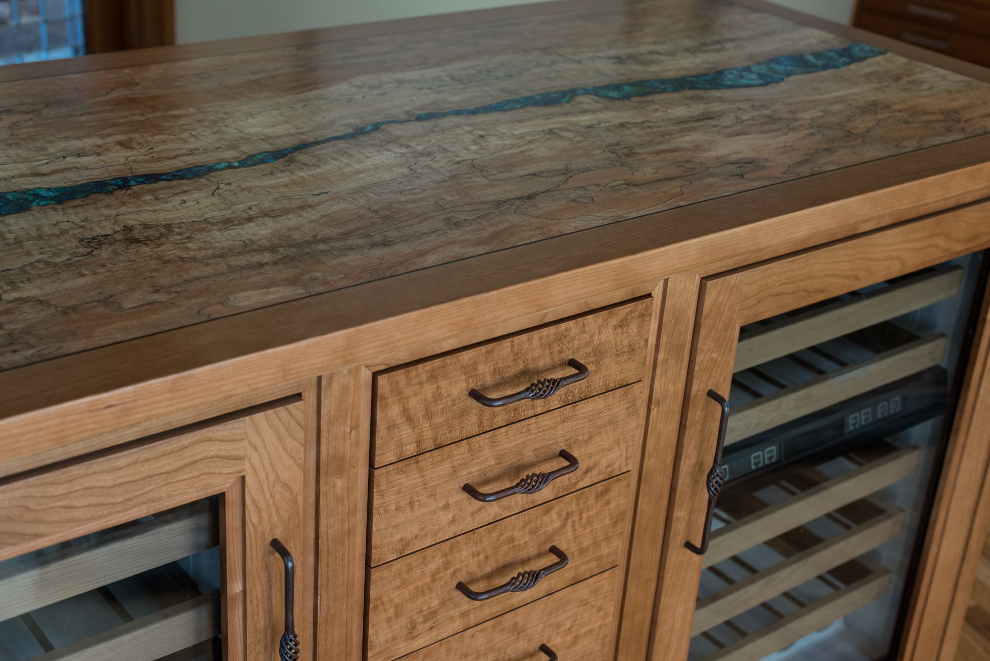 Spalted Maple D Ireys Cabinetmakers