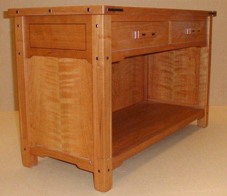 Greene and greene d 39 ireys cabinetmakers for Greene and greene inspired furniture