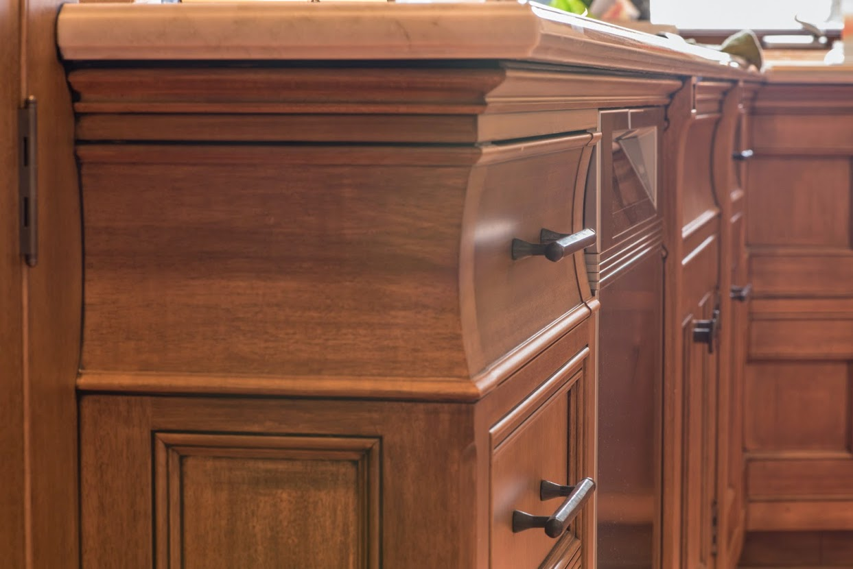 Storage d 39 ireys cabinetmakers for Anigre kitchen cabinets